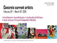 Concrete current artists