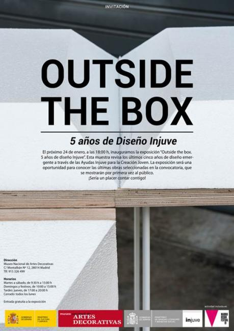 Outside the box. 5 años de diseño Injuve. Foto 2