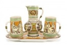 European Cultural Lifestyle in Ceramics from Baroque until Today