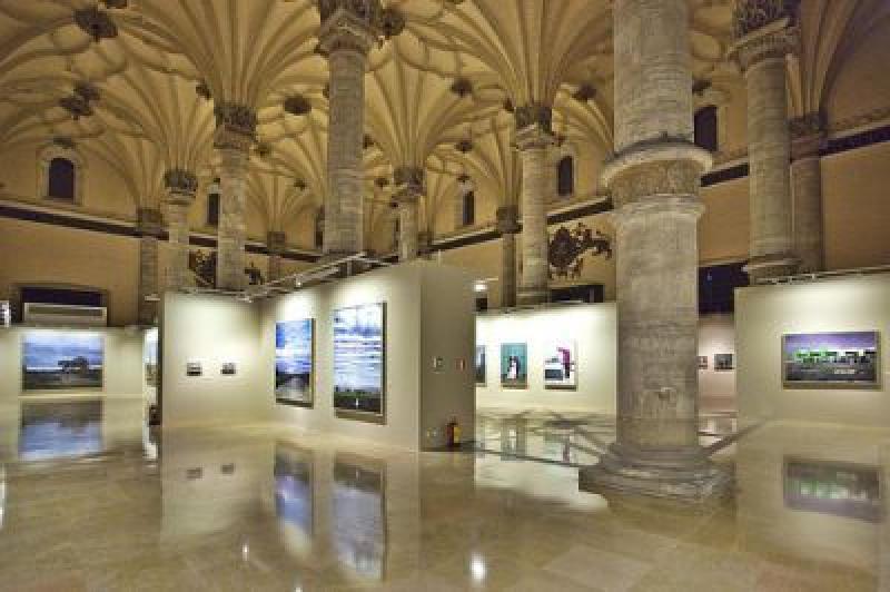 Sala De Exposiciones La Lonja En Zaragoza La Ventana Del Arte
